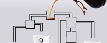 Какая из чашек кофе наполнится первой?