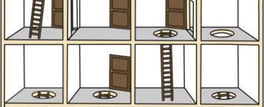 Сколько лестниц ей нужно пройти, чтобы подняться на крышу?