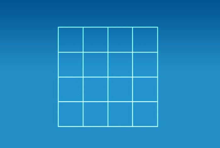 Сколько на картинке изображено квадратов?